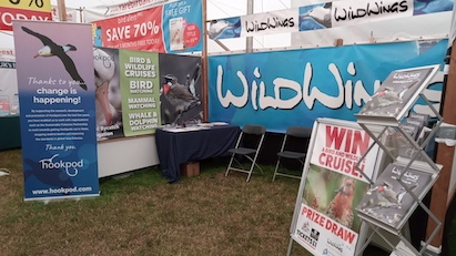 Hookpod at the BirdFair courtesy of WildWings